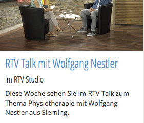RTV Talk mit Wolfgang Nestler