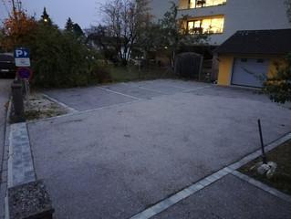 eingeschränkte Parkmöglichkeiten