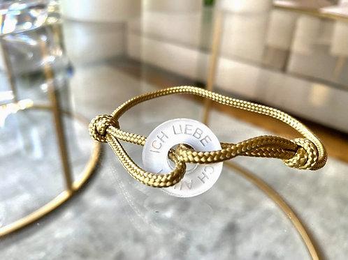 Ich liebe dich auch - Happycoin Armband