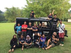 Raleigh Malaysia, inter-society meeting in Kota Kinabalu
