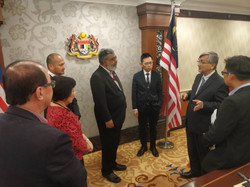 APPGM meeting with the Speaker of Parliament