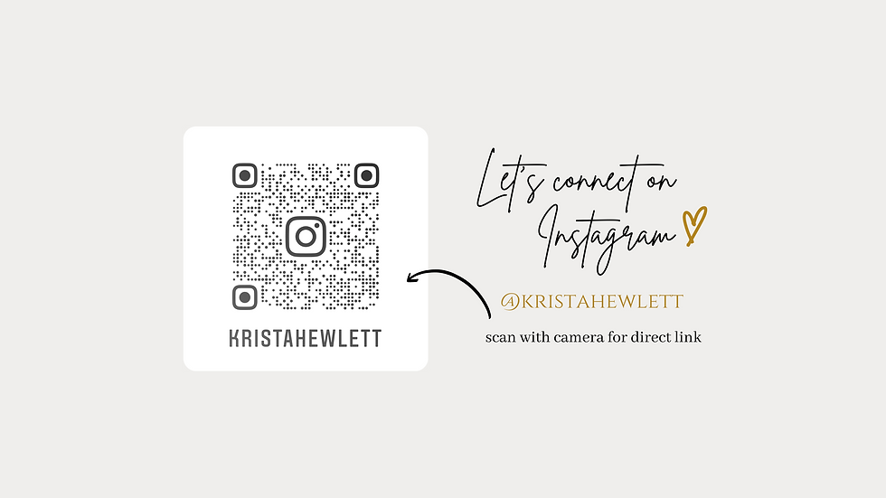 Let's connect on instagram (banner with