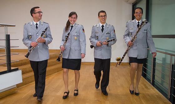Klarinettenquartett, Heeresmusikkorps Ulm
