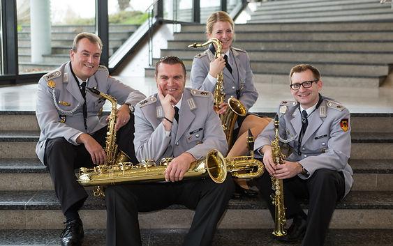 Saxophon Ensemble, Heeresmusikkorps Ulm