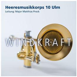 CD Cover, Windkraft, Heeresmusikkorps 10 Ulm