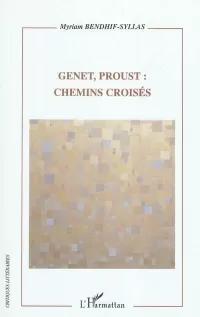 Couverture Genet, Proust_Myriam Bendhif-