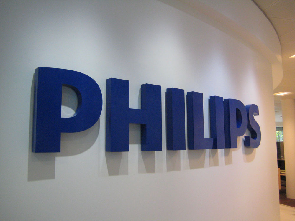 built-up-powder-coated-metal-text-philips