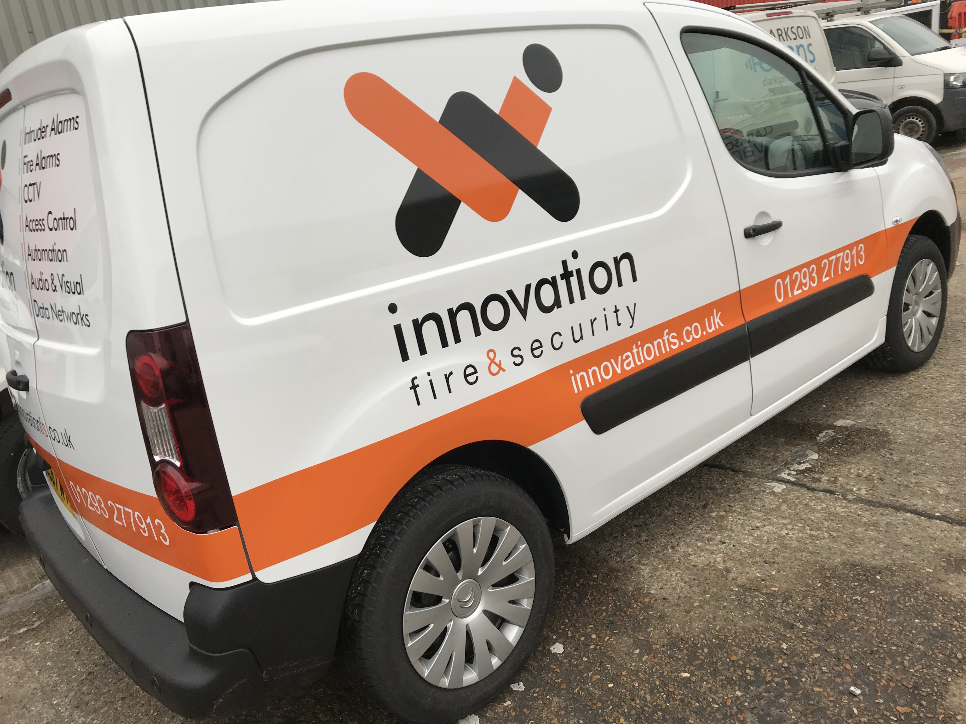 INNOVATION FIRE & SECURITY BERLINGO