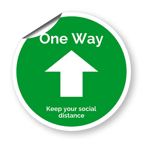 """""""One way"""" roundel (Safety Collection)"""