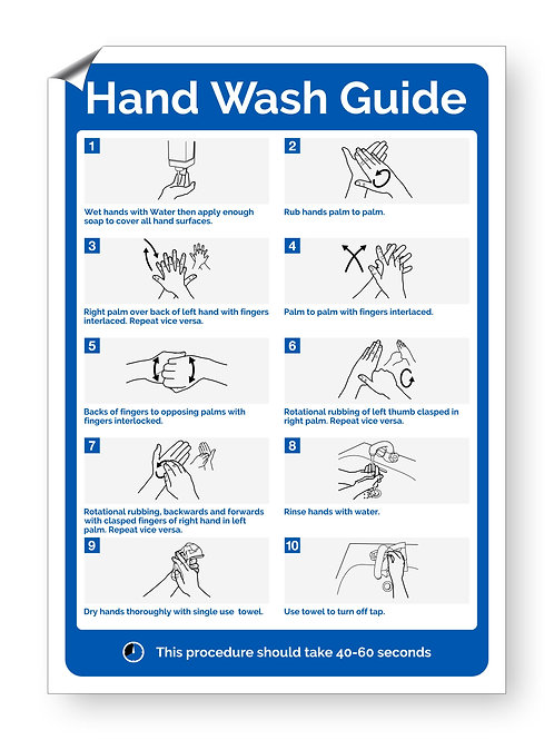 """Hand Wash Guide"" (Safety Collection)"