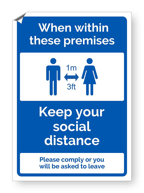 """""""Within premises social distance"""" (Safety Collection)"""