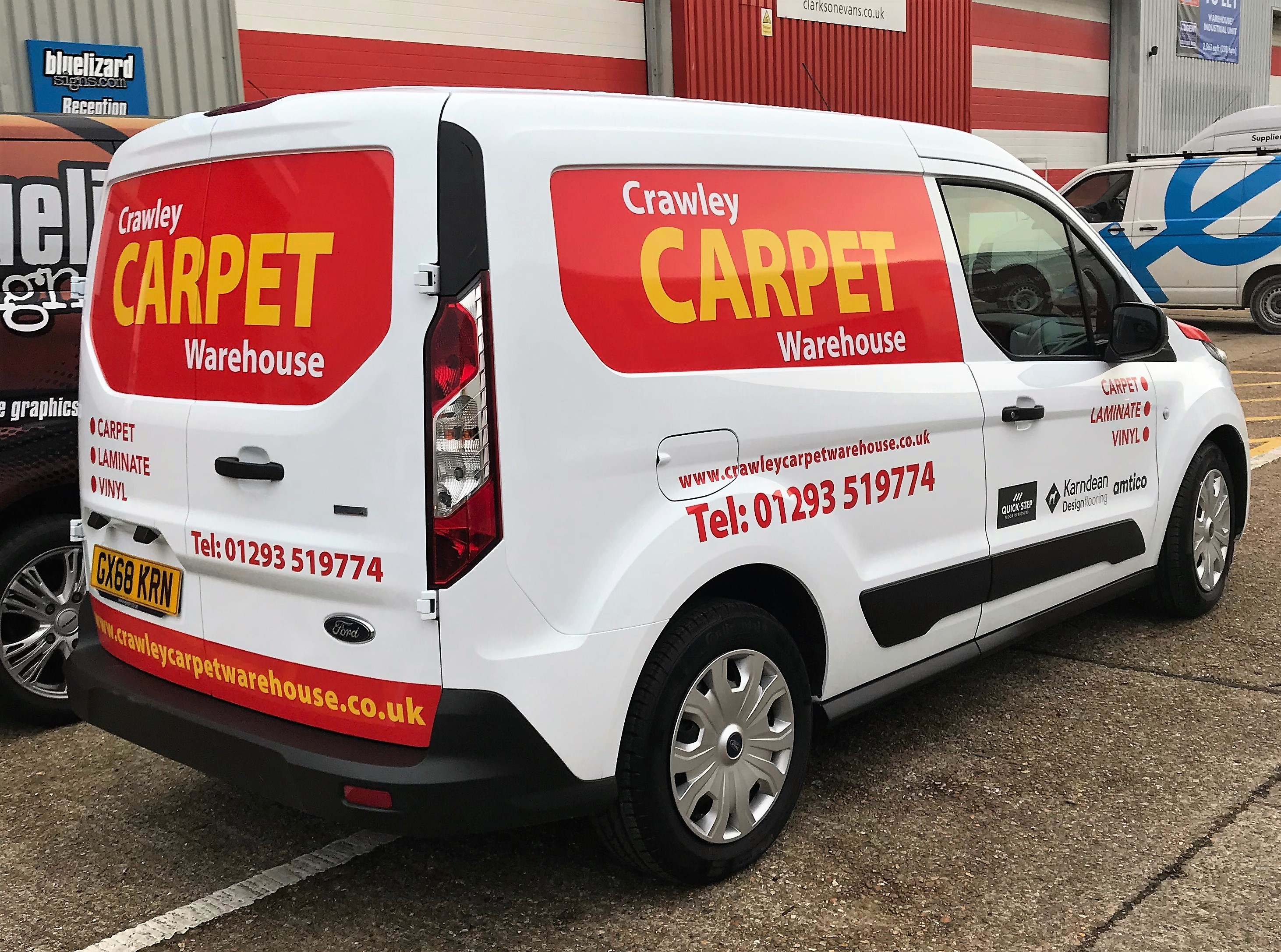 CRAWLEY CARPET WAREHOUSE