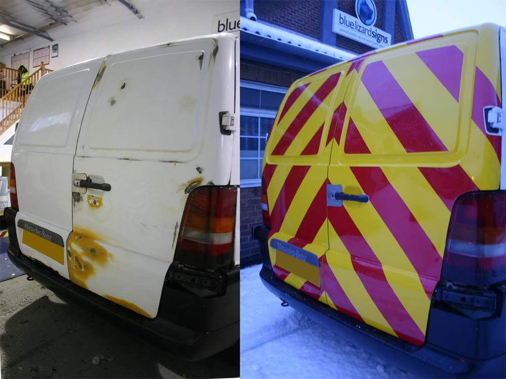 vinyl-wrap-to-rear-of-damaged-vito-van-modular-solutions