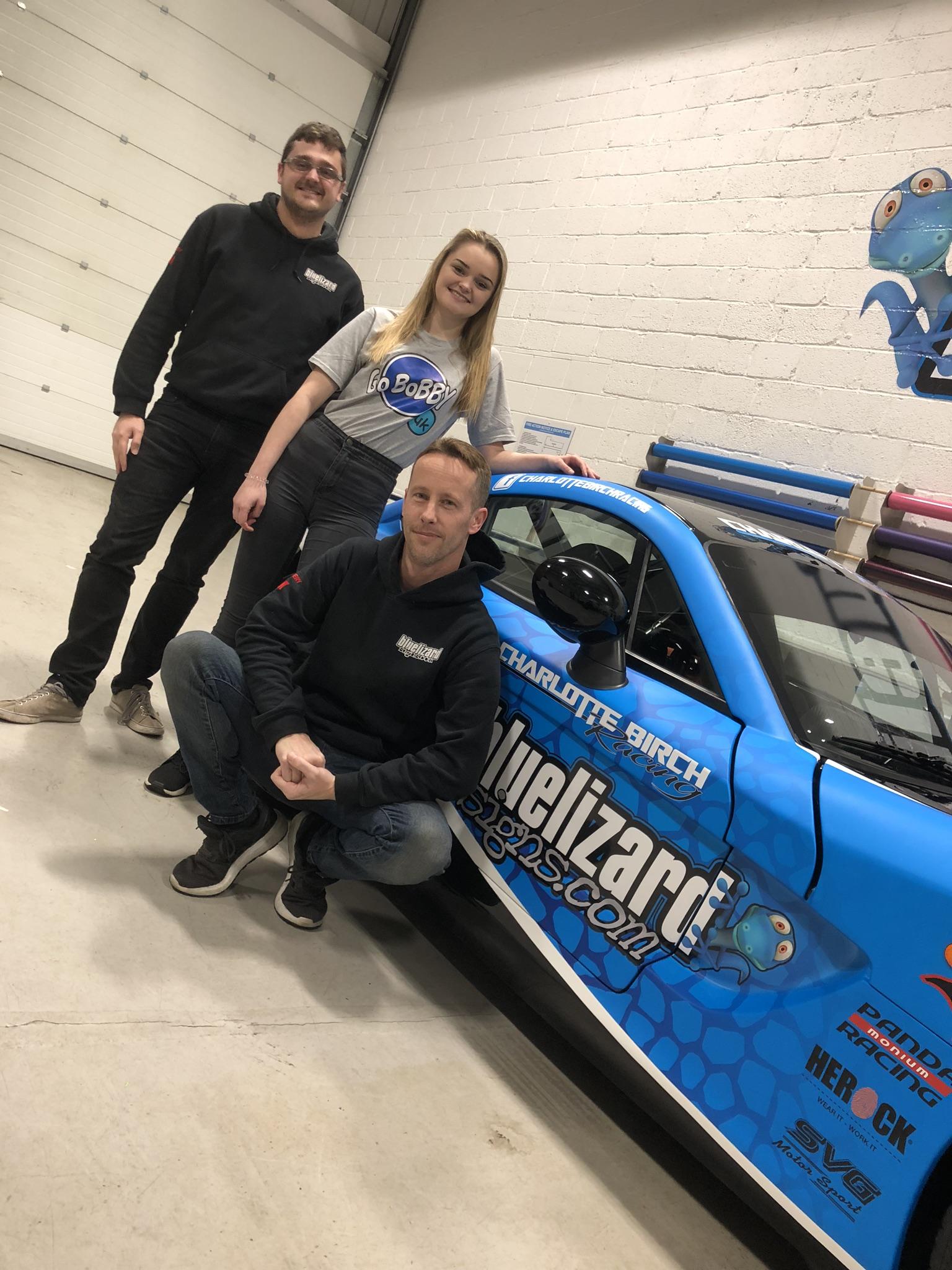 Charlotte Birch Racing