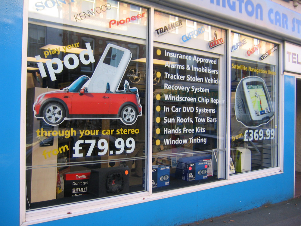 window-graphics-orpington-car-stereo