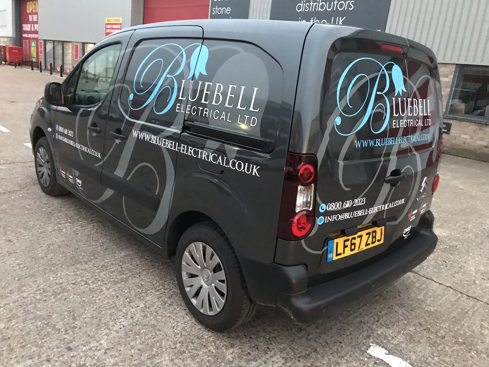 BLUEBELL ELECTRICAL BERLINGO VAN