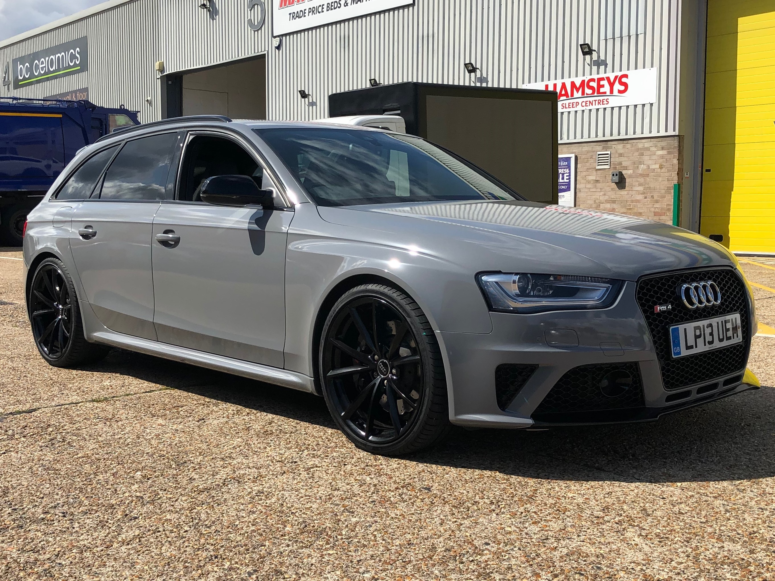 AUDI RS4 NARDO GREY