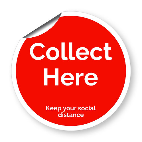 """""""Collect here"""" roundel (Safety Collection)"""