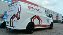 UP TO PLATE TRANSIT CUSTOM GRAPHICS