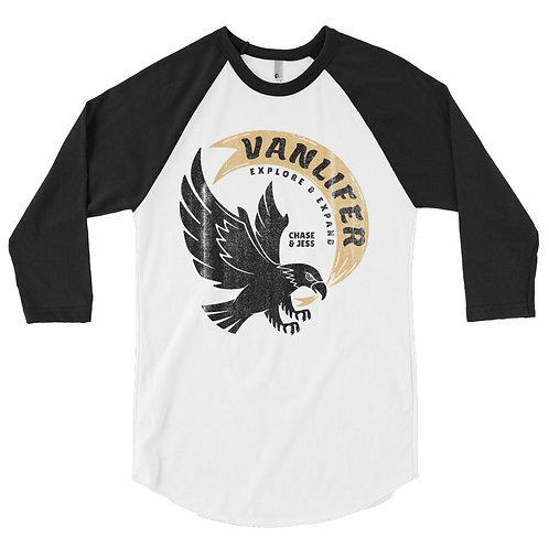 Vanlifer - Explore & Expand - 3/4 sleeve raglan shirt