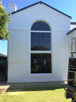 4m High Arched Window
