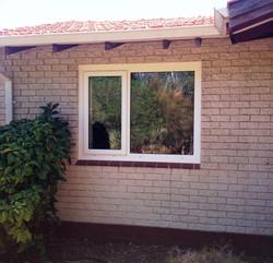 White Window With Casement Opener