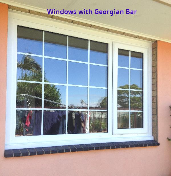 Double Glazing With Georgian Bar