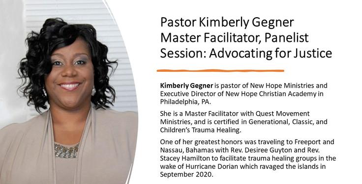 Pastor Kimberly Gegner