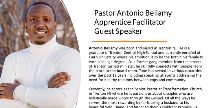 Pastor Antonio Bellamy