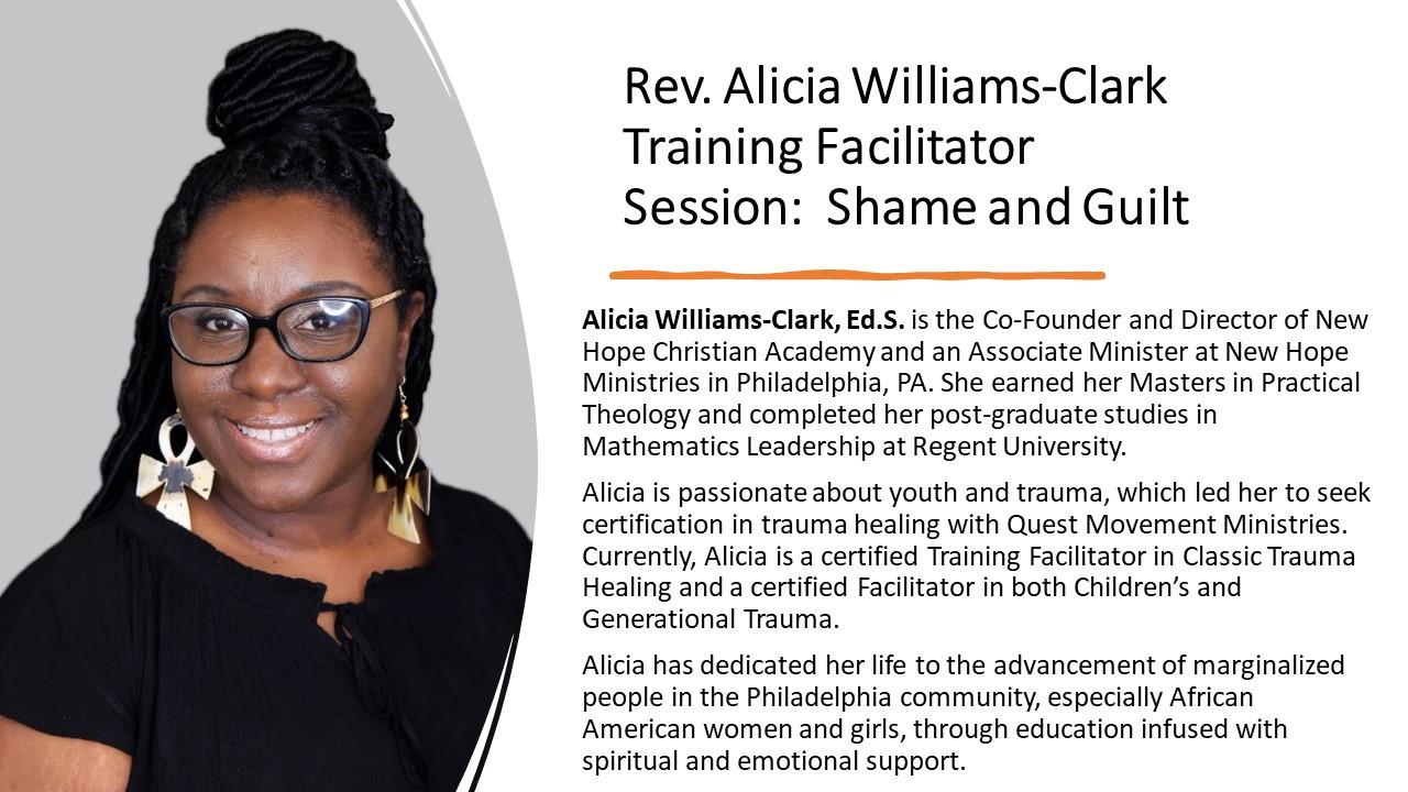 Rev Alicia Williams-Clark