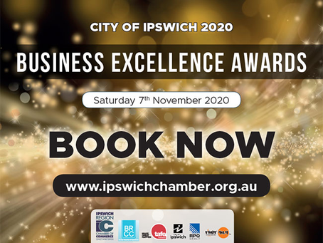 We've been nominated for two Ipswich 2020 Business Excellence Awards!