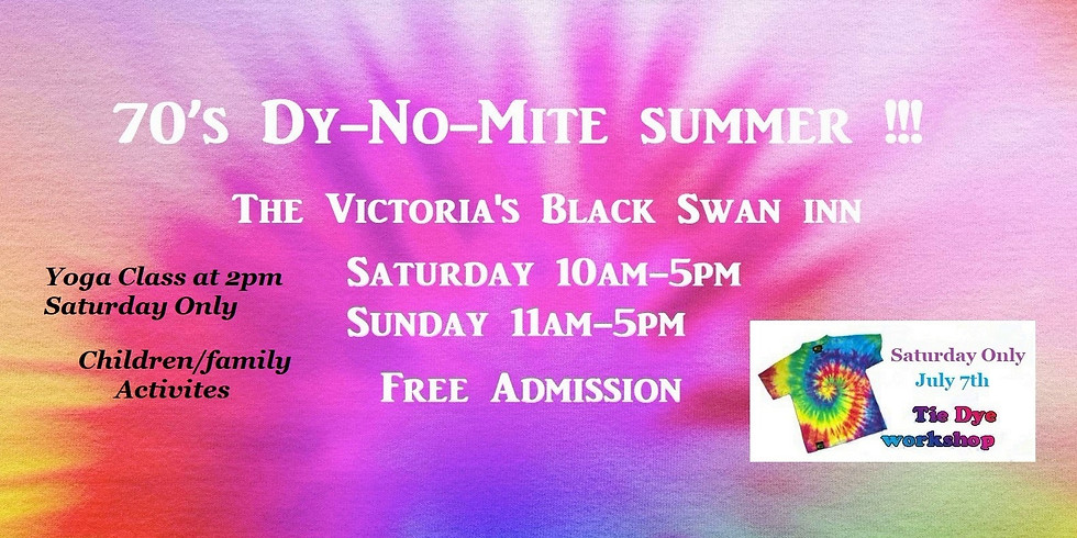 70's Dy-no-mite Summer Market Days
