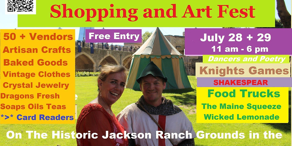 Renaissance Festival At The Jackson Ranch