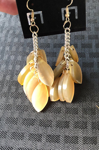 Leaf Horn Earrings