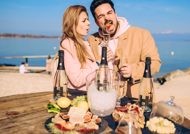 SparklingH cannabis wine best of Switzerland geneva lake couple___.png