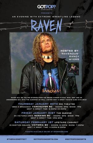 Raven 2020 BC Tour Poster