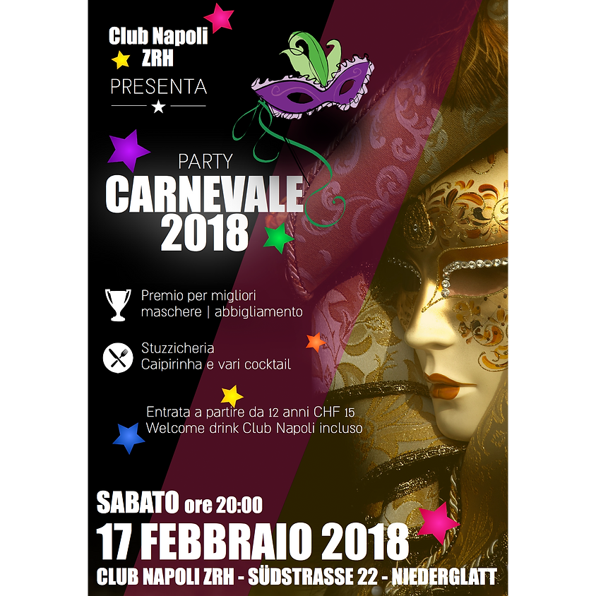 CARNEVALE PARTY 2018