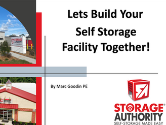 Self Storage Development by the pictures