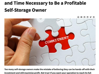 Learning Self Storage from others Experience is real wisdom