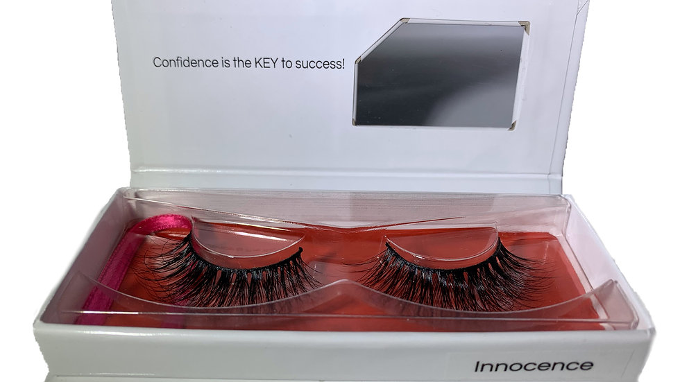 Innocence 3D Mink Eyelashes & DUO Lash Glue