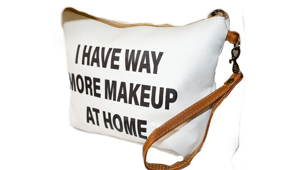 'Way More' Makeup Bag