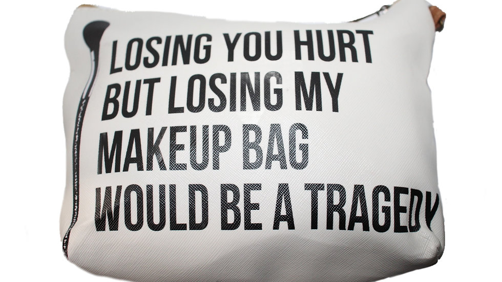 'Losing You' Makeup Bag