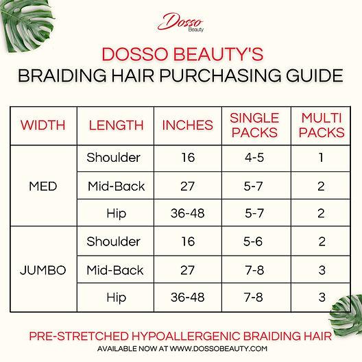 DB Braiding Hair Guide