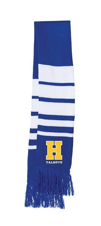 "Spirit Scarf with embroidered ""H"""