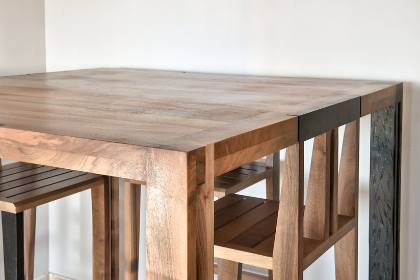 """Table Haute - Collection """"Cube"""""""