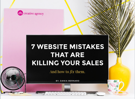 7 Website Mistakes Killing Your Sales