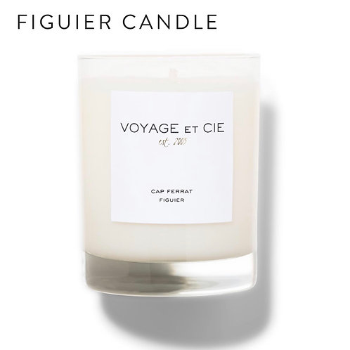 Voyage et Cie Highball Candle -Figuier Cypres