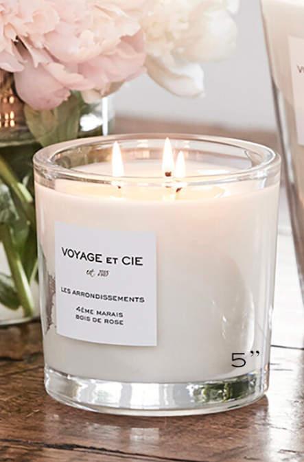 Voyage et Cie 3-Wick Figuier Candle