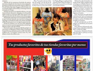 Cha-Cha ChiC in Prensa Hispana  Magazine