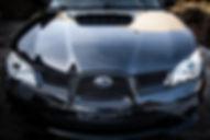 Subaru Impreza po aplikacji powłoki ceramicznej